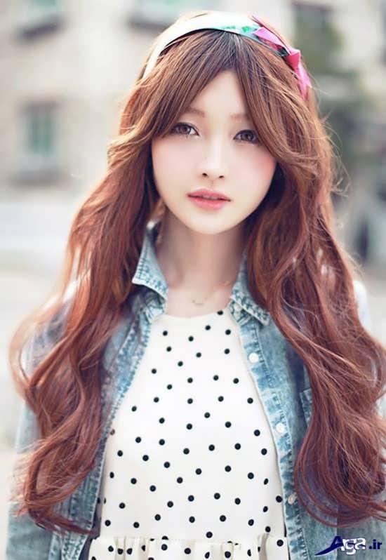 مدل موی دخترانه کره ای